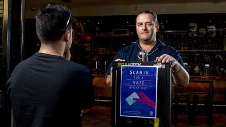 "Surfers Paradise-based Melbas nightclub general manager Simon King supports the idea of compulsory ID scanning but said launch problems involving incompatible Canadian and American IDs was a ""bit of a nightmare""."