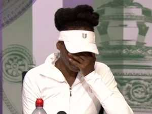 Venus Williams breaks down over fatal car crash