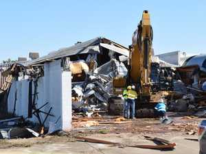DEMOLITION: Iconic Ipswich business coming down today