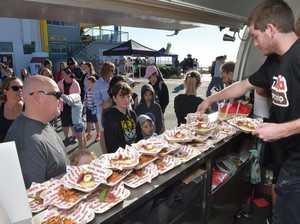 Nutella Food Truck serves free treats to Coast