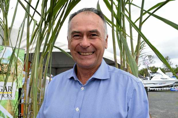 LAW OF THE LAND: Canegrowers solicitor Chris Cooper at AgroTrend in Bundaberg earlier this year.