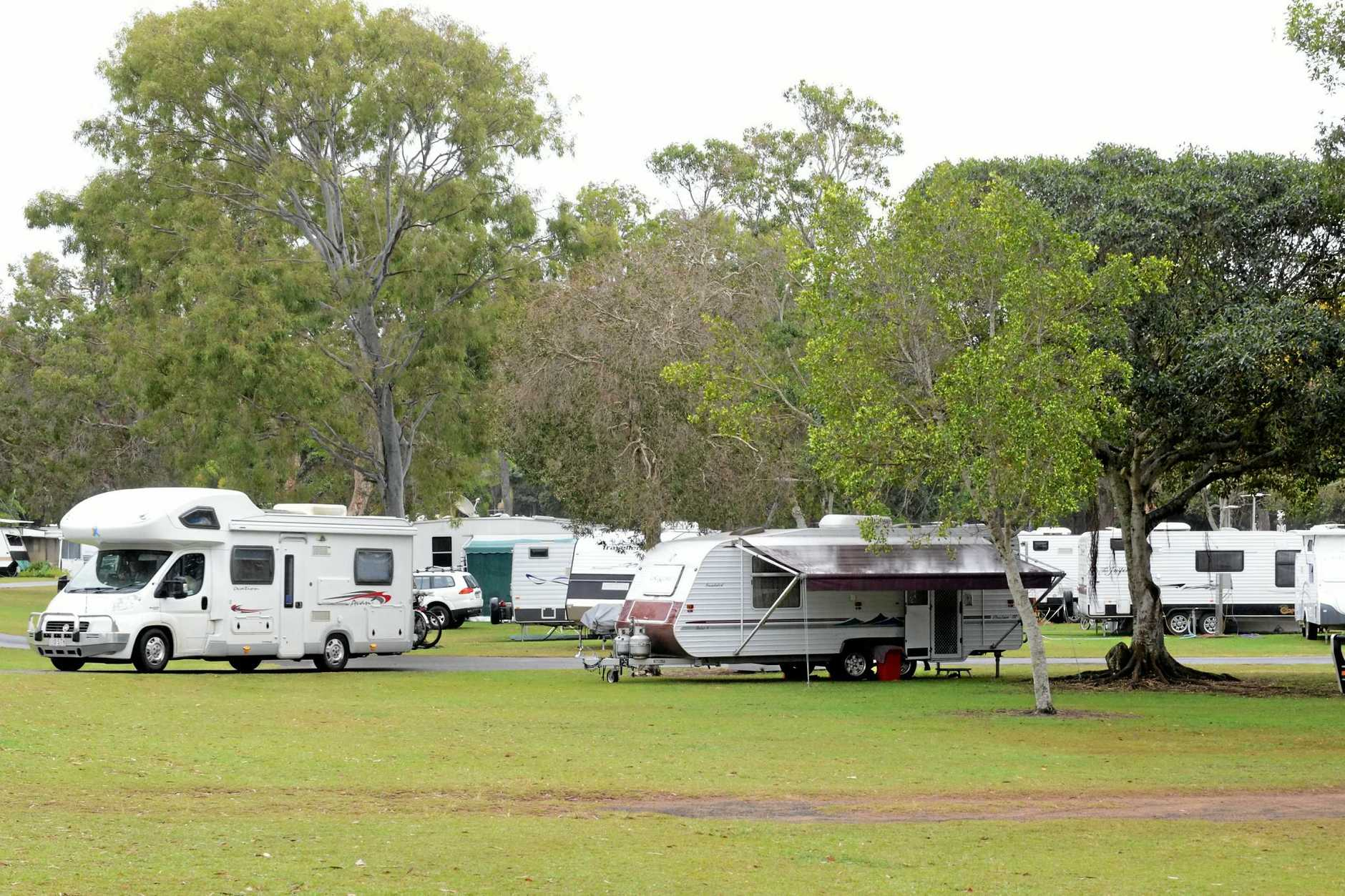 RV FRIENDLY: RV homes, Caravan and Campers at Bargara Beach Caravan Park. Photo: Paul Donaldson / NewsMail