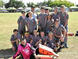 GALLERY: Gladstone U13 boys finish state titles on a high