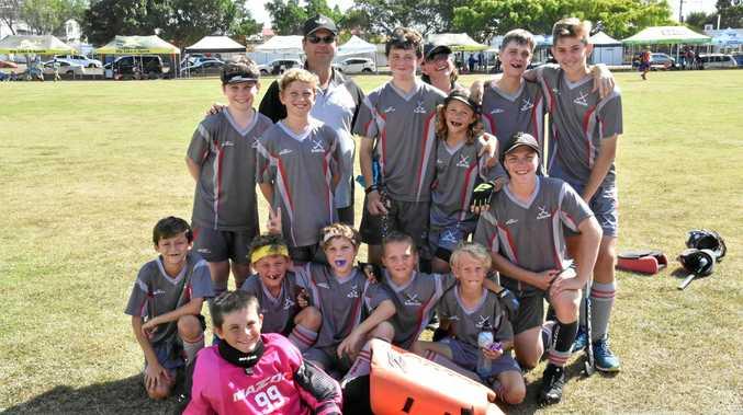 U13 Boys State Hockey Championships - Gladstone team.