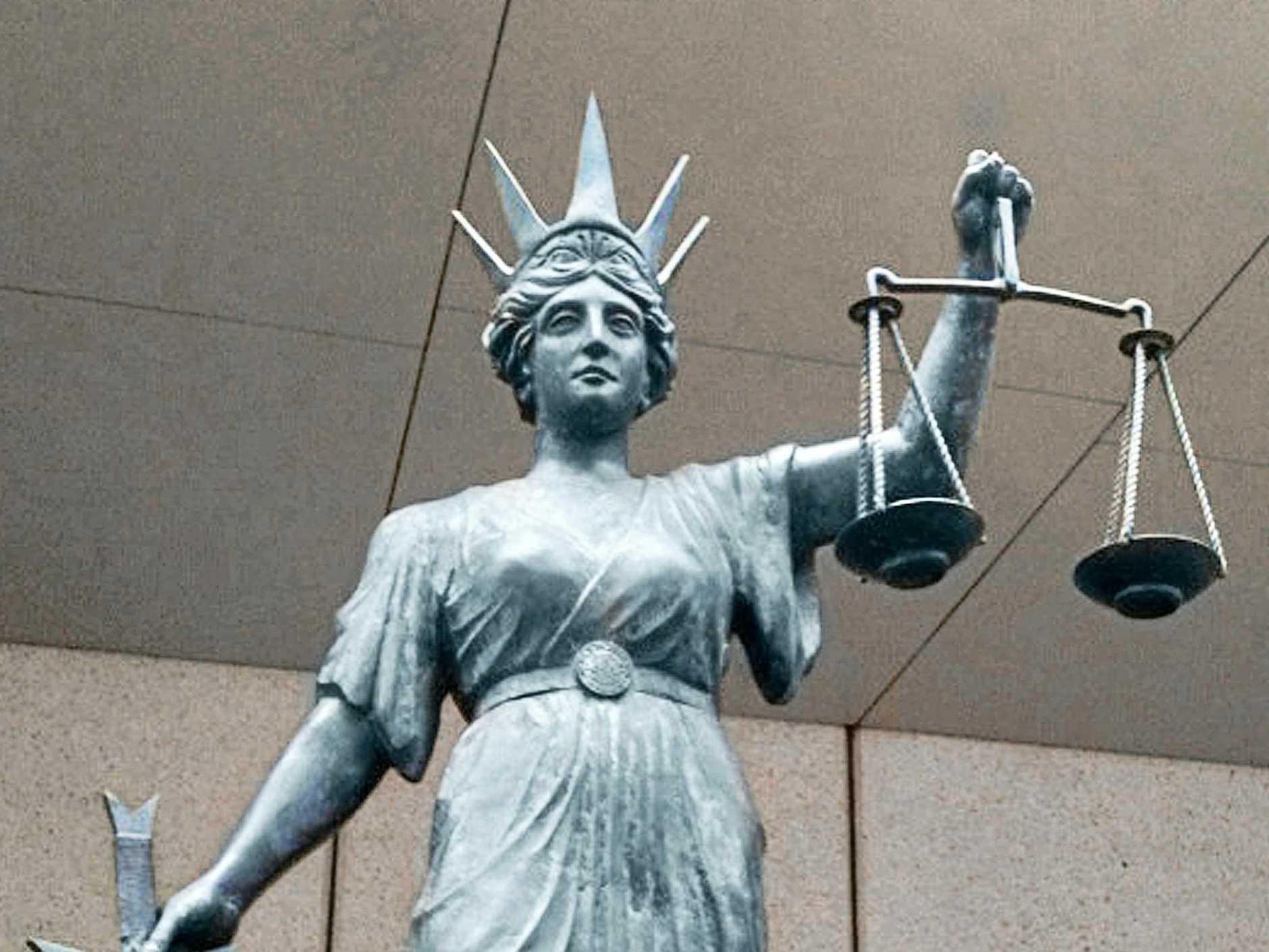 Goddess of Justice  Photo Sunshine Coast Daily Archives