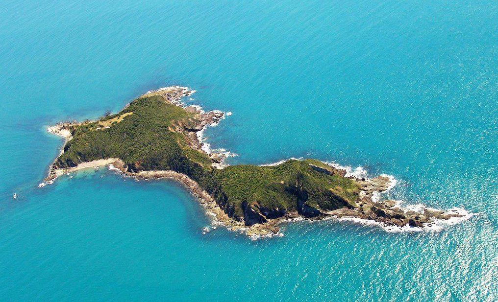 Wedge Island from the air.
