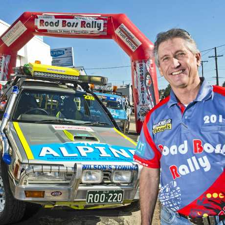 RALLY READY: Toowoomba man Barry Dever is looking forward to hitting the road in the Road Boss Rally