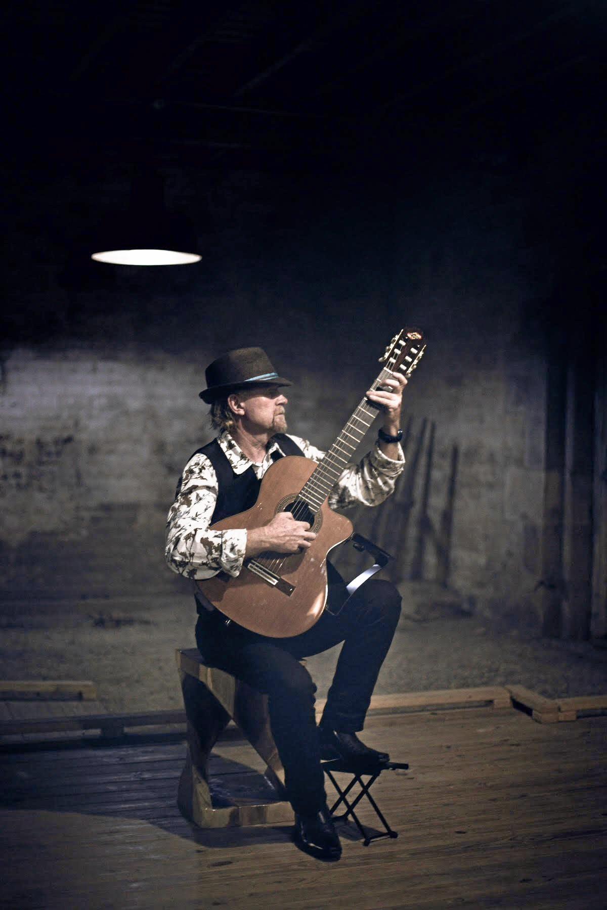 Flamenco guitarist Al Davies will get everyone dancing.