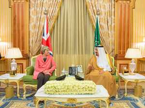 May sits on report into Saudi funds