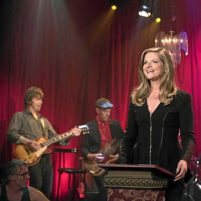 RockWiz's effervescent host Julia Zemiro will be front and centre of the live show.