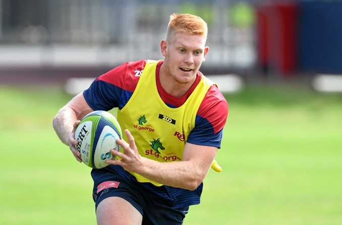 JAPAN BOUND: Young Queensland Reds player Campbell Magnay has opted against a third National Rugby Championship campaign to join Japanese club Suntory at the end of the Super Rugby season.