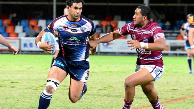 Russell Webber. Capras vs Mackay Cutters at Browne Park. Intrust Super Cup.  Photo Sharyn O'Neill / The Morning Bulletin