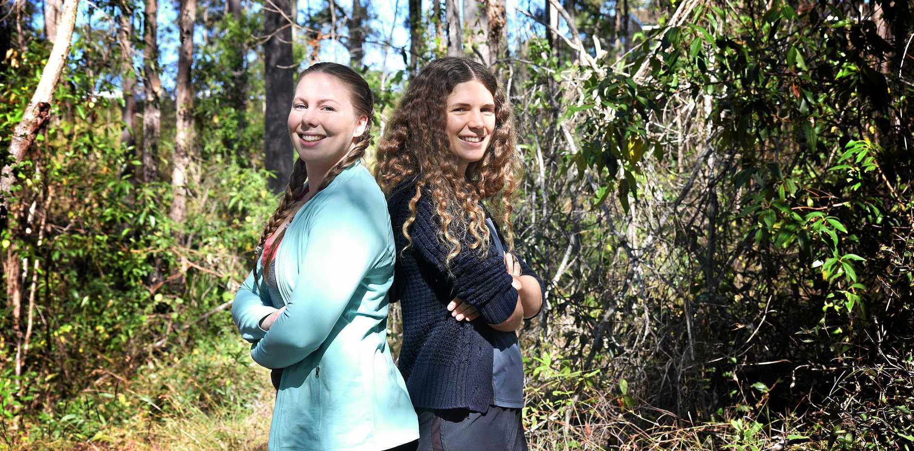HARD SLOG: Arianne Kollosche and Neralie Shuker are walking the 100km Sydney Oxfam Trailwalker on August 25-27.