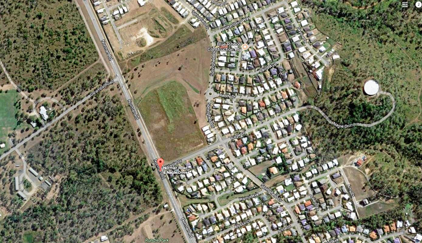 A new shopping complex is proposed for the corner of Norman Rd and Nagle Dr, Norman Gardens.