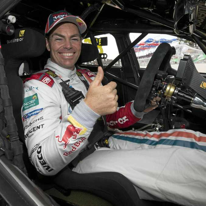 Holden driver Craig Lowndes is looking to impress in the Townsville Super Sprint this weekend.