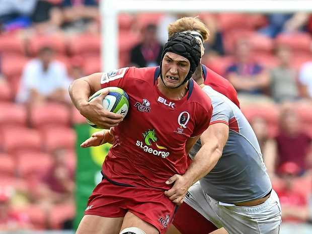 CALL UP: Rob Simmons is a shock selection at flanker for the Queensland Reds in what will be his final Suncorp Stadium game for the Super Rugby side.