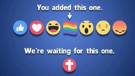 There has been a call for Facebook to introduce an 'cross ' emoji rection button.