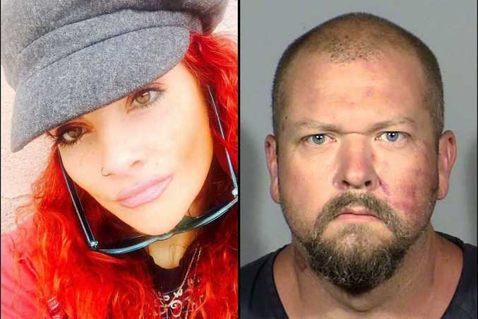 Ms Martinez, who died after being beaten by her ex-boyfriend Christopher Wood (right) had predicted her death online, recounting her failed efforts to get help from police in a series of chilling Facebook posts