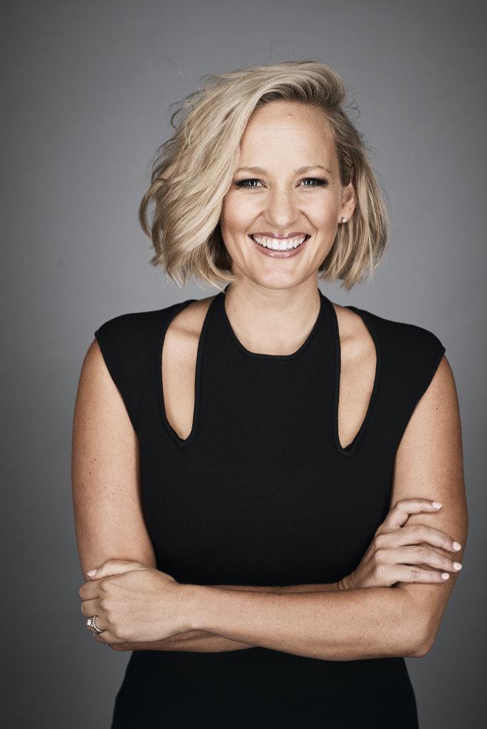 Fox Sports presenter Jess Yates.