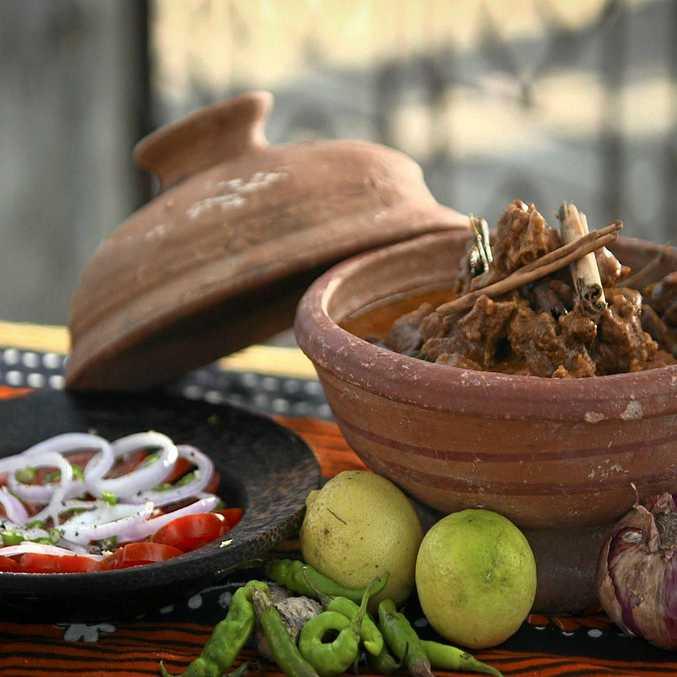 Peter Kuruvita's beef curry.
