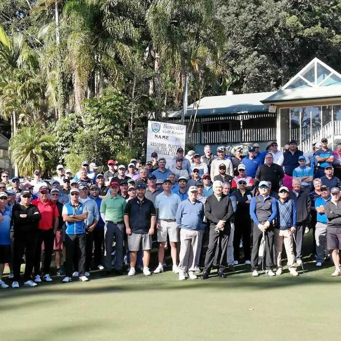 KEEN COMPETITORS: A full field for the 2017 Bonville Cup.