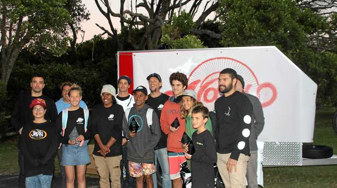 The first Naru Surf Gathering drew in plenty of surfers.