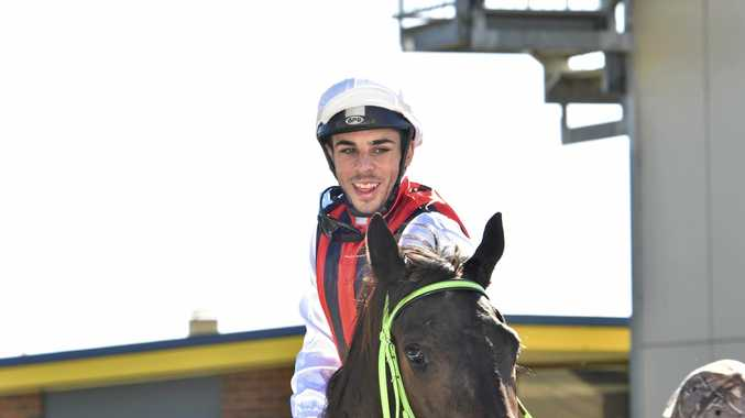 Jockey Beau Appo is involved in a three-way tussle with Skye Bogenhuber and Nozi Tomizawa for this season's Clifford Park riders' premiership.