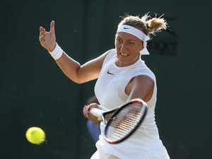 VIDEO: Kvitova's Wimbledon fairytale shattered