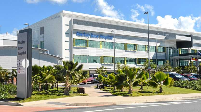 A design engineer arrived at Mackay Base Hospial Thursday to begin redesigning the air-conditioning in B Block.