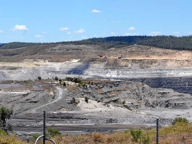 A Callide Mine worker has been injured.
