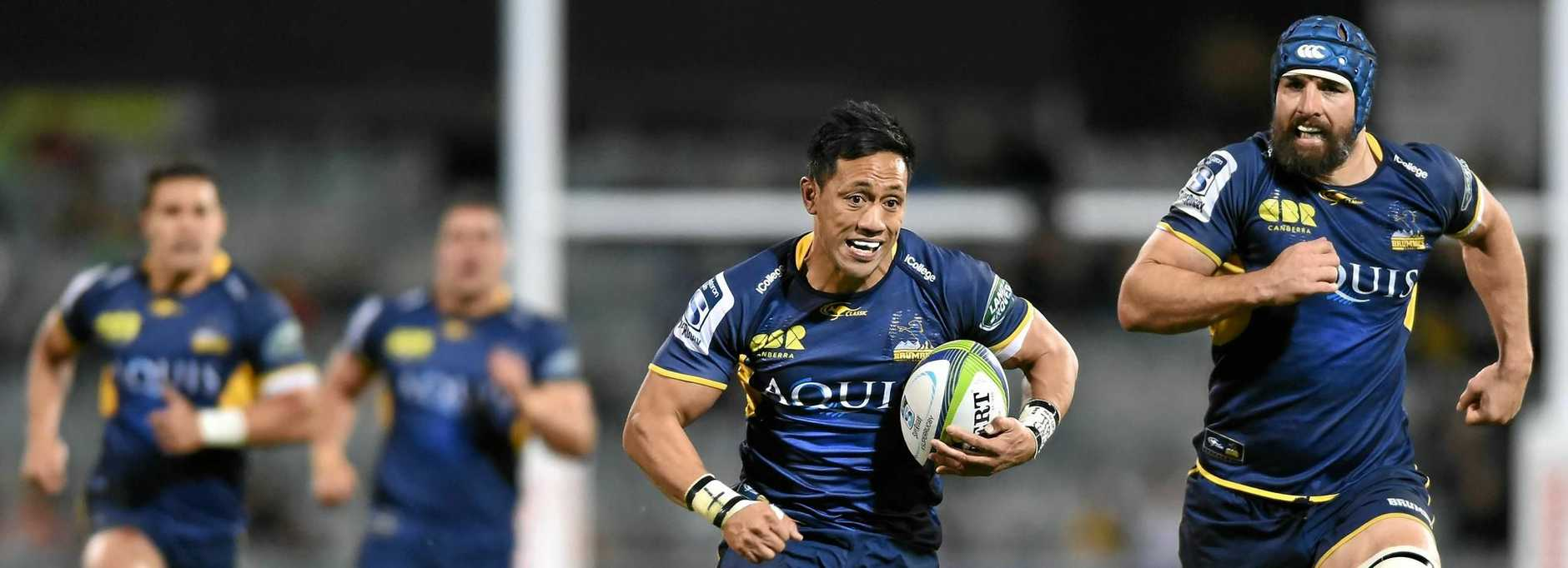 CANCER COMEBACK: A slight hamstring strain has denied ACT Brumbies star Christian Leali'ifano the shot of a comeback against the Queensland Reds after a long battle with cancer.