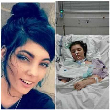 Emerald teen Charlie-Kay Woods is in a coma due to a rare disease