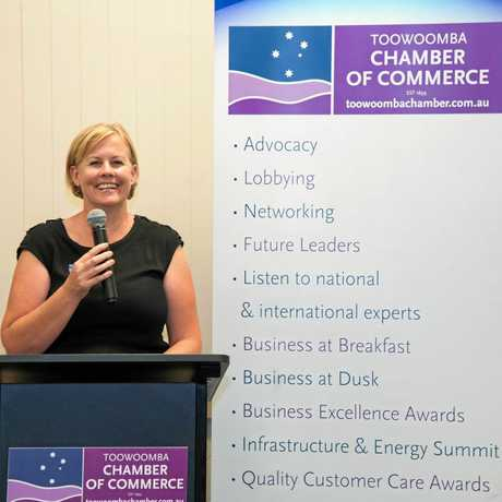 Toowoomba Chamber of Commerce CEO Jo Sheppard.