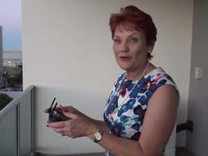 Pauline Hanson's drone drama