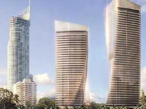 Gold coloured twin towers planned for glitter coast