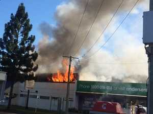 Investigation into Ipswich business fire