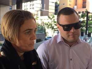 Ackerman family speak outside court
