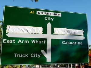 Sign stuff up leaves NT motorists scratching heads