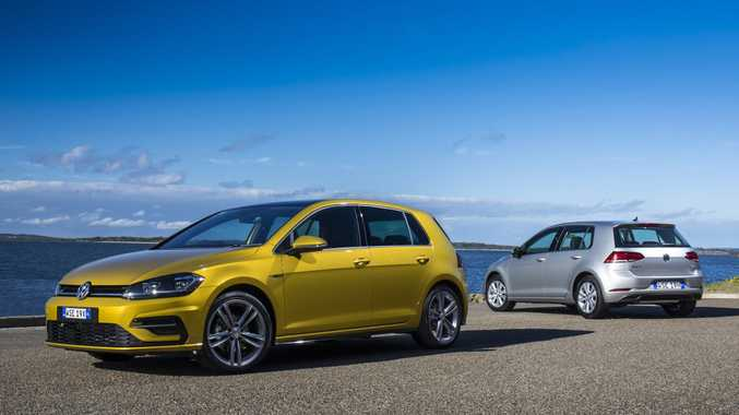 ALL-ROUND TALENT: Volkswagen gives its talented Mk7 Golf a mid-life refresh to create an all-round champion, with the range priced from $23,990 drive away
