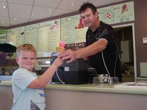 Hervey Bay dessert shop sells 1000 ice creams a day