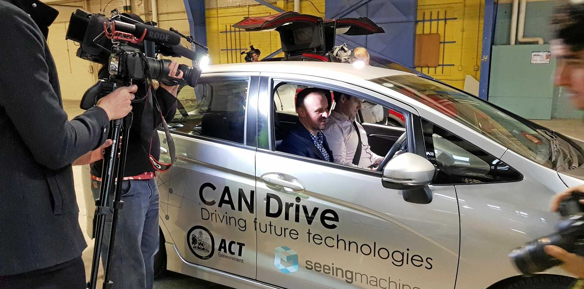 CANDRIVE: The Seeing machines technology in action.