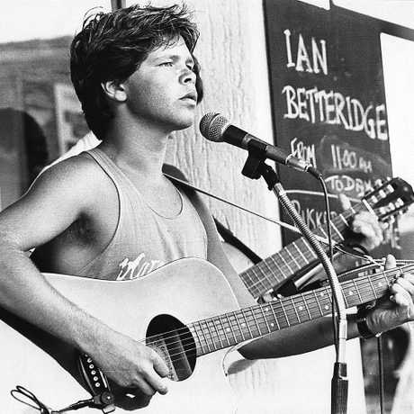 Troy Cassar-Daley as a teenager.