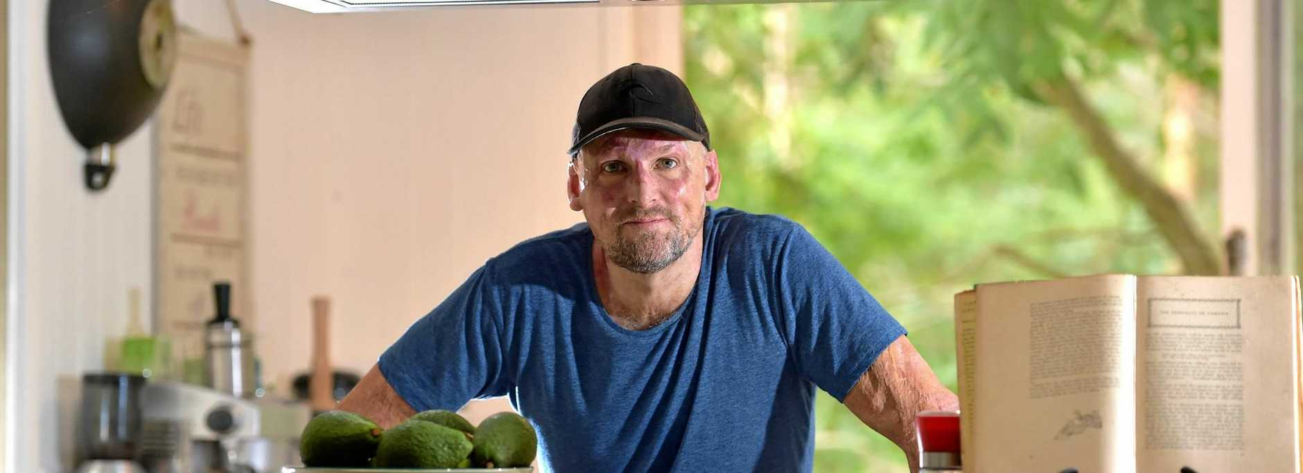 Chef Matt Golinski has a busy schedule at home in the garden and at work.