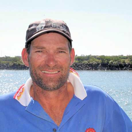 Dan Atherton, who's been fishing for more than 25 years and was formerly working on a prawn trawler, has encouraged Mackay seafood shoppers to check out what's on offer locally.