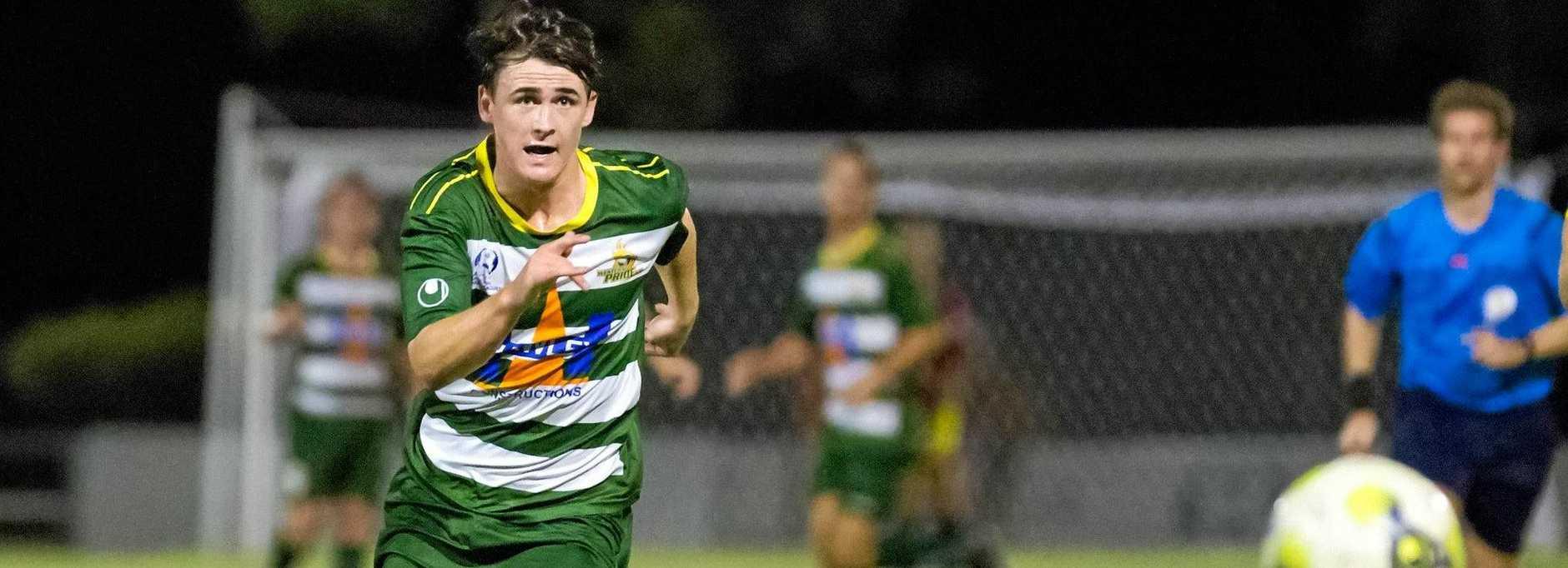 Western Pride goal scorer Dylan Wenzel-Halls