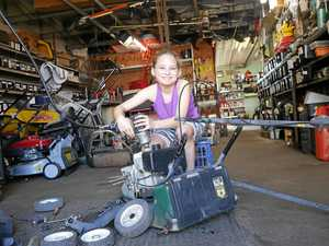UPDATE: 10-year-old mechanic makes donation to charity