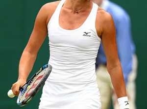 Last Aussie hope crashes out at Wimbledon