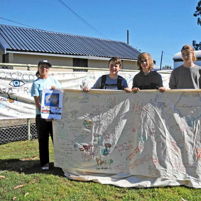 Anti-coal seam gas campaigners will protest outside the Coffs Harbour Showground today.