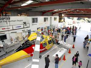 Old chopper base new home for paramedics, council workers