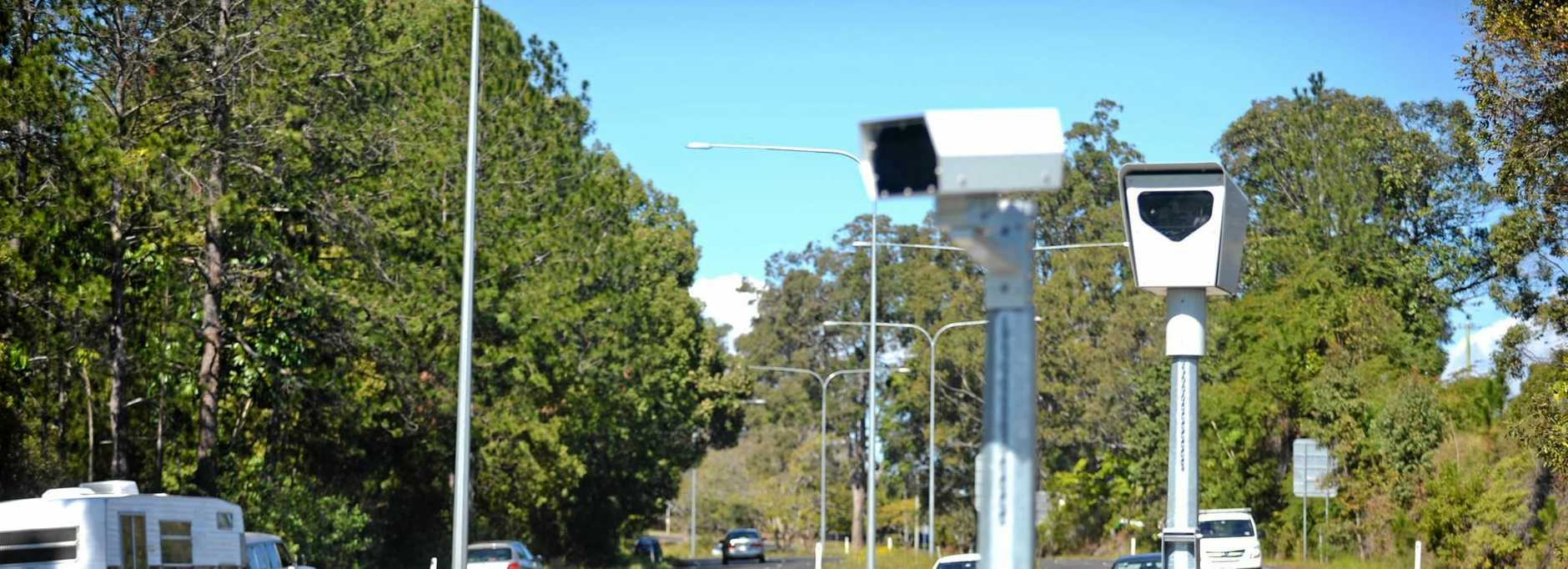 HACKED: Speed cameras also run the risk of hacking.
